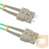 Qoltec Optic Patchcord SC/UPC - SC/UPC   Multimode   50/125   OM4   Duplex   5m