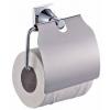 QUADRAT - Dratos fürdőszoba szett, fedeles WC-papír tartó
