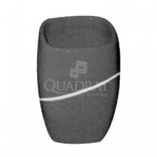 QUADRAT - Kerámia, STONE ANTRACIT, fürdőszoba kiegészítő fürdőkellék