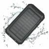 Quazar Solar Cell napelemes powerbank (fekete)