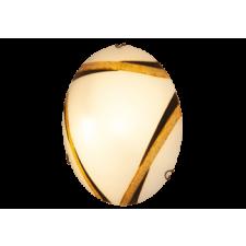 RÁBALUX Rábalux 1948 ART bronz Mennyezeti lámpa D40 E27 2X60W, fehér/bronz világítás