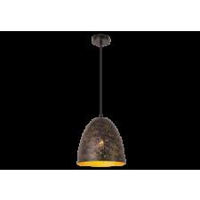 RÁBALUX Rábalux 2560 Shane Függeszték E27 1X40W, rusztikus arany világítás