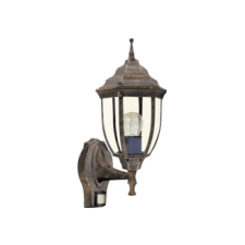 RÁBALUX Rábalux 8458 Nizza, kültéri falikar, felfele, mozgásérzékelővel világítás