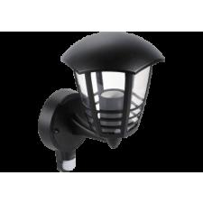 RÁBALUX Rábalux 8578 Marseille, falikar lámpa mozgásérzékelővel, felfelé,hatszögletű lámpafej-alak 3 díszítő csíkkal világítás