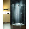 Radaway Almatea PDD/zuhanykabin 195*80*80 króm elemekkel többféle biztonsági üveggel