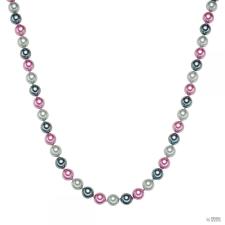 RafaelaDonata Lánc Sterling ezüst MuschelkernGyöngynszürke Antracit rózsaszín Hossz: 48 cm + 5 cm nyaklánc