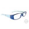 Raffa Designer kék olvasó szemüveg