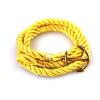 Ragyogj.hu Anchorissime - horgony karkötő - arany - sárga kötéllel
