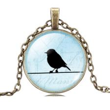 Ragyogj.hu Birdy nyaklánc - bronz - 5. nyaklánc