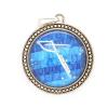 Ragyogj.hu Játékos Delfin - nyaklánc a Delfin csillagképpel - nagy medál