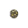 Ragyogj.hu Pandor@ Style ezüst medál -vintage-zöld