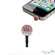 Ragyogj.hu Shamballa színátmenetes telefonékszer-piros-rózsaszín-fehér egyéb ékszer