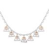 Ragyogj.hu - Swarovski Harang- színjátszófehér-Swarovski kristályos - nyaklánc
