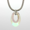 Ragyogj.hu - Swarovski Helios Swarovski medál - vastag vagy vékony nyaklánccal -Crystal Luminous Green