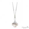 Ragyogj.hu - Swarovski Kereszt - ezüst nyakék - Swarovski kristályos
