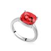 Ragyogj.hu - Swarovski Óriás kristály- piros- Swarovski kristályos - Gyűrű