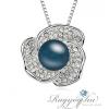Ragyogj.hu - Swarovski Perla- Swarovski kristályos - Medál-ezüst