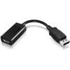 RaidSonic Displayport 1.2 -> HDMI M/F adapter 0.15m fekete
