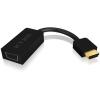 RaidSonic HDMI -> VGA M/F adapter fekete ICY BOX