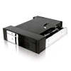 "RaidSonic ICY BOX-17002 RaidSonic ICY BOX IB-172SK-B Mobile Rack 5.25"" helyre SATA fekete"