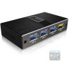 RaidSonic ICY BOX 4 portos USB3.0 HUB +USB charge port 5 V, 2.4 A