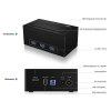 RaidSonic Icy Box Docking Station for Stick-PC to USB 3.0, 2.5''/3.5'' SATA SSD/HDD