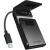 RaidSonic ICY BOX IB-AC6031-U3 SATA 3 USB 3.0 A adapter + bőt tok fekete