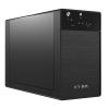 RaidSonic Icy Box IB-RD3620SU3 RAID system for 2x3,5'' SATA I/II/III, USB 3.0, eSATA fekete külső merevelmez ház