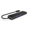 RaidSonic IcyBox 4x Port USB 3.0 (2x Type-C and 2x Type-A) Hub, USB Type-C