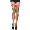Rainbow Thorn Net Thigh Highs - PINK - O/S - HOSIERY