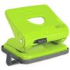 RAPESCO 825 Lyukasztó kétlyukú 25 lap fém zöld