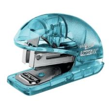 """Rapid Tűzőgép, mini, 24/6, 26/6, 10 lap, RAPID """"Colour' Ice"""", kék tűzőgép"""