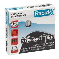Rapid TŰZŐKAPOCS RAPID 9/17 /1000 SUPERSTRONG gemkapocs, tűzőkapocs