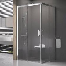 Ravak MSRV4 80/80 zuhanykabin szatén + transparent(1WV44U00Z1) fürdőszoba kiegészítő
