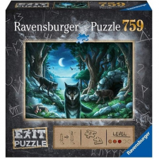 Ravensburger : Farkas 759 db-os Exit puzzle puzzle, kirakós