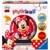 Ravensburger: Minnie egér 72 darabos gömb puzzle