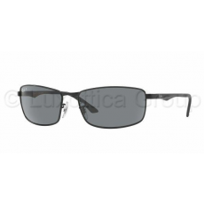 Ray-Ban RB3498 006/81 MATTE BLACK POLAR GRAY napszemüveg
