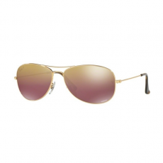 Ray-Ban RB3562 001/6B SHINY GOLD BROWN POLAR MIRROR GOLD napszemüveg