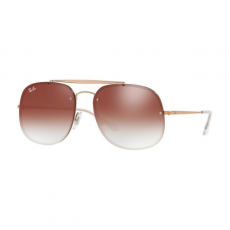 Ray-Ban RB3583N 9035V0 COPPER CLEAR GRADIENT RED MIRROR RED napszemüveg