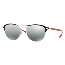 Ray-Ban RB3596 909188 SILVER ON TOP MATTE BLACK GREY MIRROR SILVER GRADIENT napszemüveg