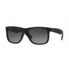 Ray-Ban RB4165 622/T3 JUSTIN BLACK RUBBER POLAR GREY GRADIENT napszemüveg