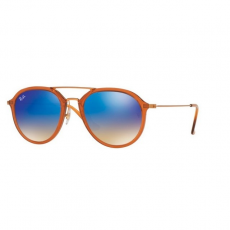 Ray-Ban RB4253 62388B SHINY BROWN BLUE FLASH GRADIENT napszemüveg