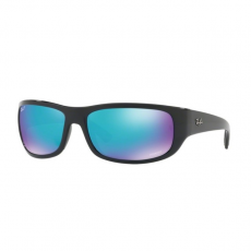 Ray-Ban RB4283CH 601/A1 BLACK GREEN MIRROR BLUE POLAR napszemüveg