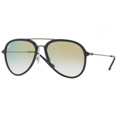 Ray-Ban RB4298 6333Y0 GREY CLEAR GRADIENT GOLD napszemüveg