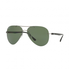 Ray-Ban RB8058 004/9A GUNMETAL POLAR GREEN napszemüveg
