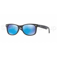 Ray-Ban RJ9052S 100S55 MATTE BLACK BLUE MIRROR gyermek napszemüveg