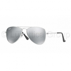 Ray-Ban RJ9506S 212/6G JUNIOR AVIATOR SHINY SILVER GREY SILVER MIRROR napszemüveg