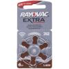 Rayovac hallókészülék elem ZA312, H312MF 6db/bliszter
