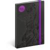 REALSYSTEM Design notesz - Alphonse Mucha– Amethyst, lined, 13 x 21 cm