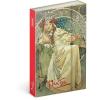 REALSYSTEM Design notesz - Alphonse Mucha– Princess, lined, 10,5 x 15,8 cm